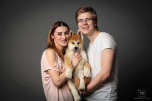 Rodinná fotografie fotografa Tomáše Drozda v ateliéru Ostrava