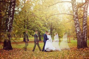 Svatební fotografie ženicha a nevěsty od fotografa Tomáše Drozda