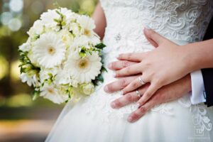 Svatební fotografie prstýnků