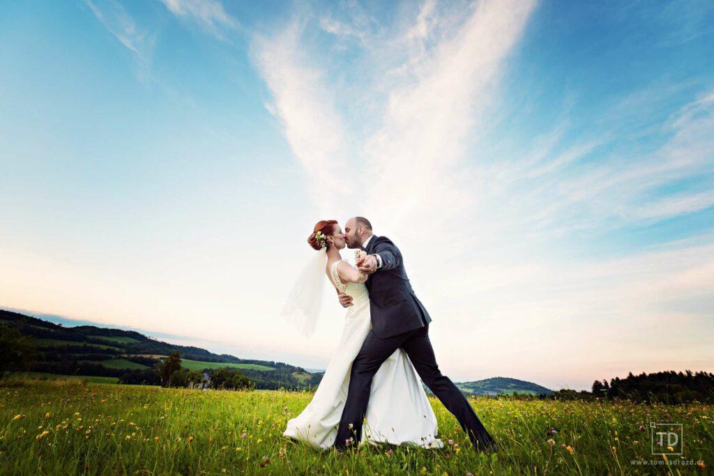 Svatební fotografie vytvořil fotograf Ostrava Tomáš Drozd