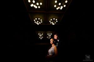 Svatební fotografie od fotografa Tomáše Drozda v dělnickém domě Studénka