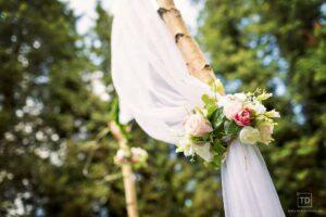 Svatební fotografie Lenky a Michala ze svatby v mlýně U vodníka Slámy