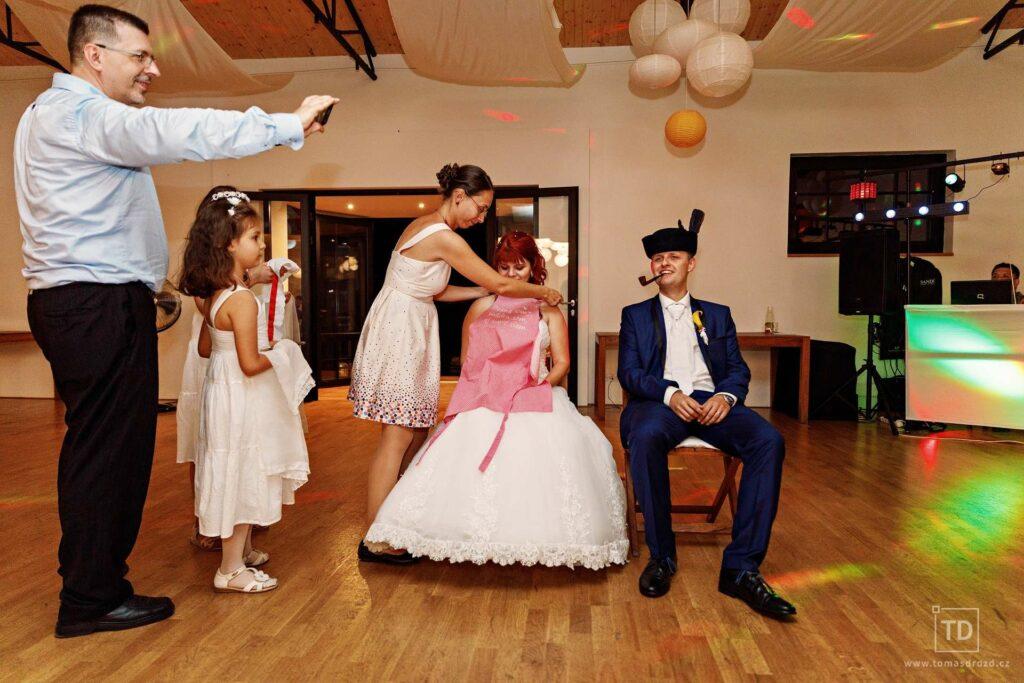 Svatební fotografie Petry a Martina